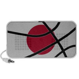 Japan Basketball Doodle Speaker