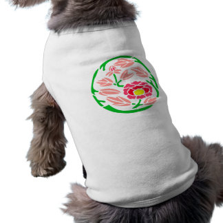Japan Blumenmuster flower pattern Haustiershirt