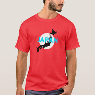Japan Country Silhouette T-Shirt