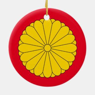 Japan - Crest Christmas Ornament