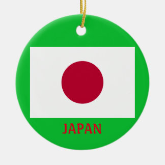 Japan* Crest Christmas Ornament