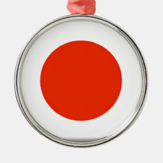 Japan Silver-Colored Round Decoration