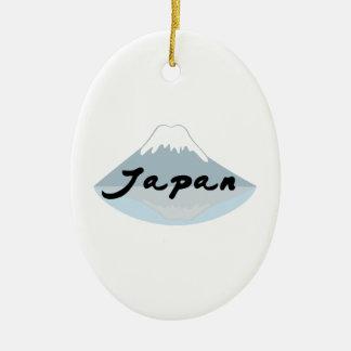 Japan Ceramic Oval Ornament