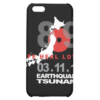 Japan Earthquake 8.9 iPhone 5C Cover