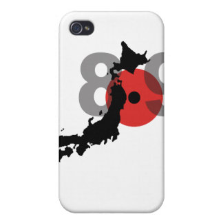 Japan Earthquake 8.9 Cover For iPhone 4