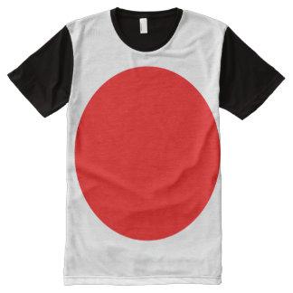 Japan Flag All-Over Print T-Shirt