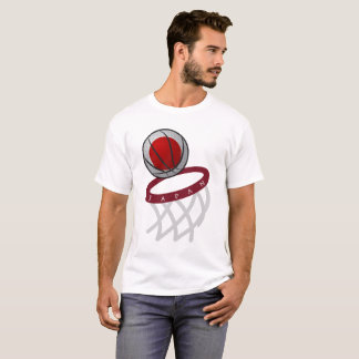 Japan Flag Basketball Hoop T-Shirt