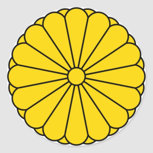 JAPAN FLAG - COAT OF ARMS - IMPERIAL SEAL