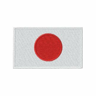 Japan flag embroidered men s t-shirt