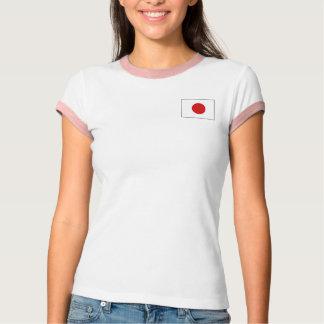 Japan Flag + Map T-Shirt