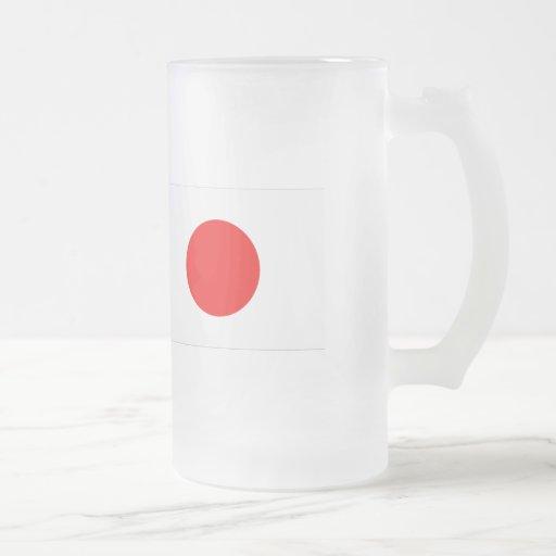 Japan Flag Coffee Mugs