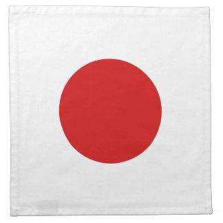 Japan Flag Napkin