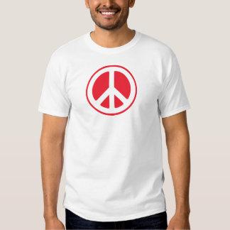 japan flag peace symbol t-shirt