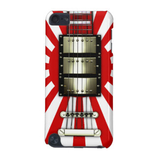 Japan Flag Retro Electric Guitar #1A iPod Touch (5th Generation) Covers