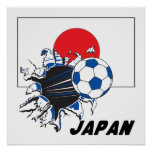 Japan Futbol Soccer Poster