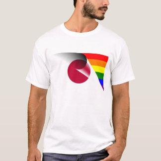 Japan Gay Pride Rainbow Flag T-Shirt