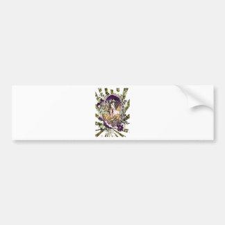 Japan Geisha Dragon Bumper Sticker
