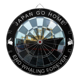 Japan Go Home - End Whaling Forever Dart Boards