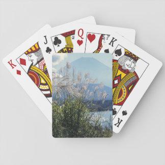 Japan, Honshu, Yamanashi Pref., Fuji-Hakone-Izu Poker Deck