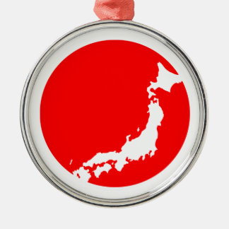 Japan In Ciricle Ornament