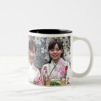 JAPAN IN SPRING COFFEE MUG