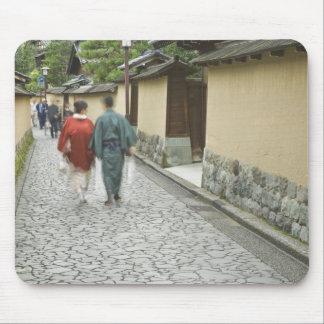 Japan, Ishikawa, Kanazawa, Buke Yashiki District Mouse Pad