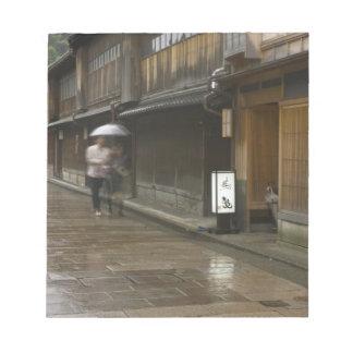 Japan, Ishikawa, Kanazawa, Higashi Chaya Notepad