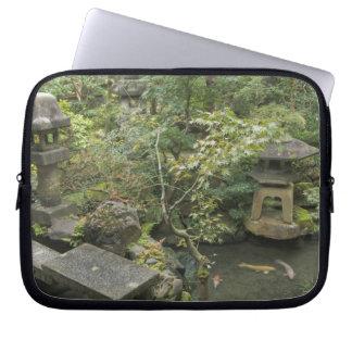 Japan, Ishikawa, Kanazawa, Nomura Samurai House Computer Sleeve