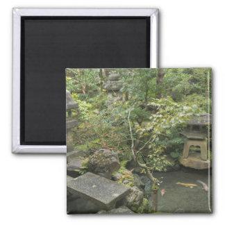 Japan, Ishikawa, Kanazawa, Nomura Samurai House Square Magnet