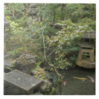 Japan, Ishikawa, Kanazawa, Nomura Samurai House Tile
