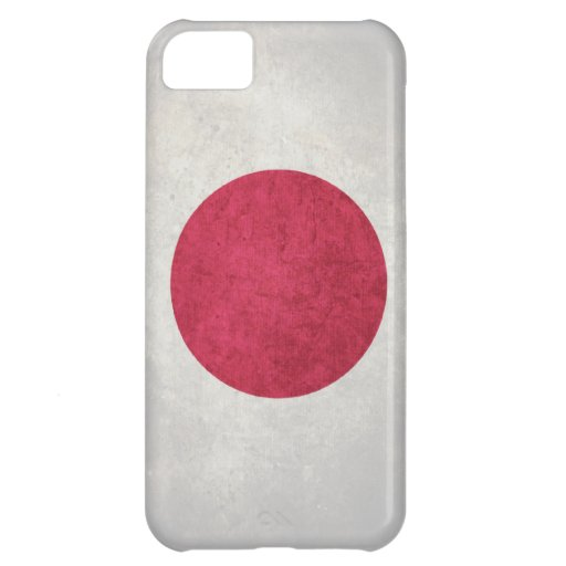 Japan; Japanese Flag Cover For iPhone 5C