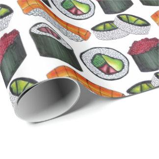 Japan Japanese Food Sushi Roll Rolls Gift Wrap