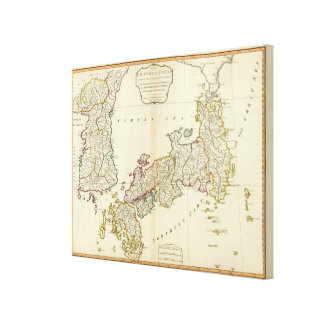 Japan, Korea Canvas Print