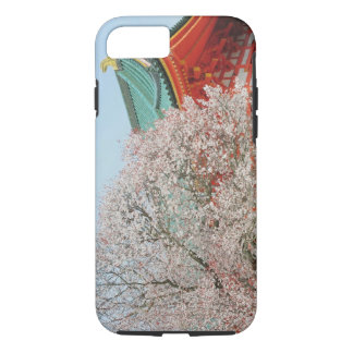 Japan, Kyoto. Cherry blossom of Shinto iPhone 8/7 Case