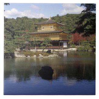 Japan, Kyoto, Golden Pavilion, Zen Temple Tile