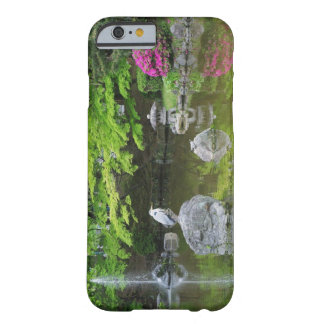 Japan, Kyoto. Heron in fresh green leaves Barely There iPhone 6 Case