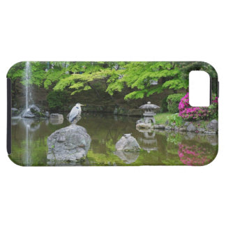 Japan, Kyoto. Heron in fresh green leaves Case For The iPhone 5