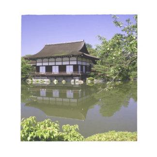 Japan, Kyoto, Japanese Garden of Heian Shrine Notepad