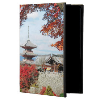 Japan, Kyoto. Kiyomizu temple in Autumn color Cover For iPad Air