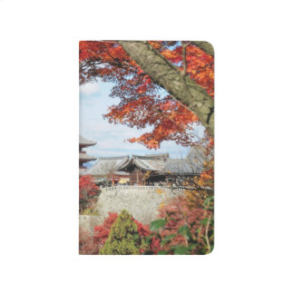 Japan, Kyoto. Kiyomizu temple in Autumn color Journals