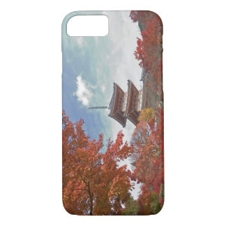 Japan, Kyoto, Pagoda in Autumn colour iPhone 8/7 Case