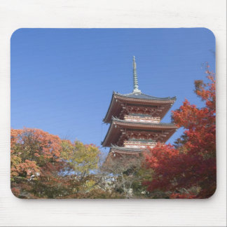Japan, Kyoto, Pagoda in Autumn colour Mouse Mat