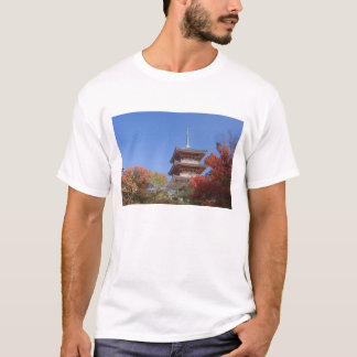 Japan, Kyoto, Pagoda in Autumn colour T-Shirt