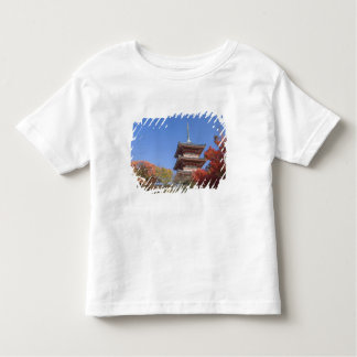 Japan, Kyoto, Pagoda in Autumn colour Toddler T-Shirt