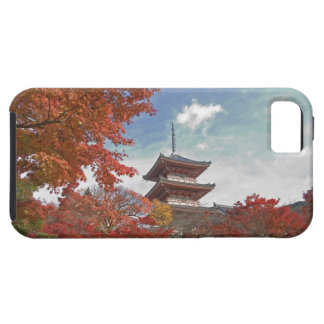 Japan, Kyoto, Pagoda in Autumn colour Tough iPhone 5 Case