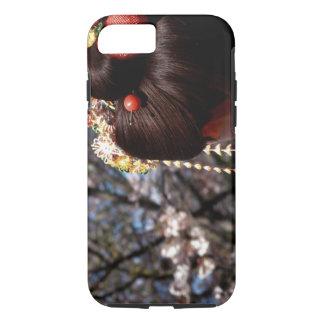 Japan, Kyoto. Rear view close-up of geisha's iPhone 7 Case