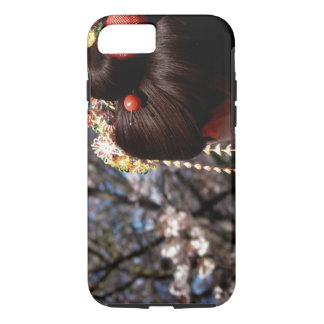 Japan, Kyoto. Rear view close-up of geisha's iPhone 8/7 Case