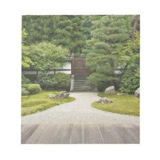 Japan, Kyoto, Sennyuji Temple Garden Notepad
