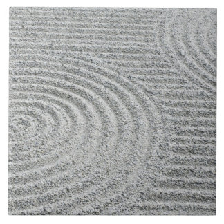 Japan, Kyoto, Tofukuji Temple, Pattern in Sand Tile