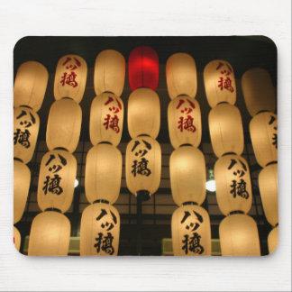 japan lanterns mouse pad